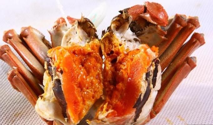 螃蟹去内脏图解